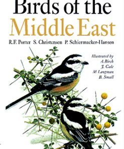 تصویر جلد کتاب Birds of the Middle East